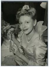 Marie Sabouret, alias Joelle Lisber  Vintage silver print Tirage argentique