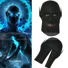 The Flash Season 2 Zoom Mask Helmet Full Head Cosplay Props Black Halloween