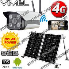 Wireless Security Camera 4G GSM Solar Farm House IP Alarm System Remote Monitor