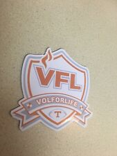 Tennessee Volunteers 3.5inch Vol for Life Cooler Yeti Cup Sticker Decal Sticker