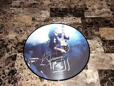 """Ace Frehley Hand Signed Limited Edtion Live Vinyl Record Picture Disc 12"""" Kiss"""