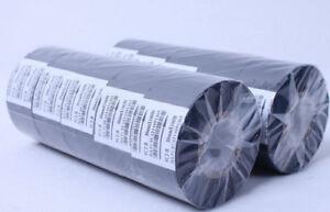 Black Hot Stamp Ribbon 10 Rolls FC2B 30mm x 100m For Coder Printer Machine
