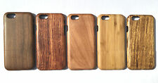 HARD WOODEN PROTECTOR WOOD CASE COVER FOR APPLE IPHONE SE 5 6 6SPLUS 7 & 7PLUS