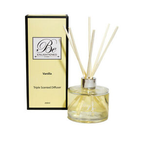 Triple Scented Diffuser 500ml Vanilla by Be Enlightened RRP $89.99