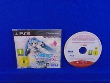 ps3 HATSUNE MIKU PROJECT DIVA F 2nd PROMO FULL GAME PAL REGION FREE