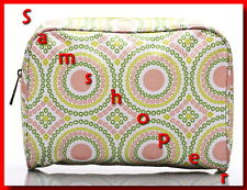Clinique Colorful Flower Cosmetic/Makeup Bag NEW