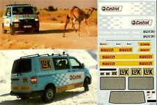 VW T5 Hammerfest - Dakar 1:43 Decal Abziehbild