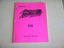 ALPINE RACER 2 DX   NAMCO   vinatage original arcade game  manual