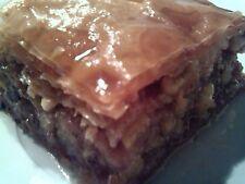 A Dozen of Homemade Baklava ( Greek Pastry)