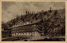 Raineralpe bei Kreuth Bayern Ansichtskarte ~1920/25 Waldpartie am Ferienheim
