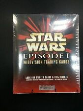Star Wars Episode 1 Trading Cards Widevision