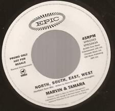 "Marvin & Tamara ""North,South,East,West"" Northern / Modern Soul 7"" Vinyl"