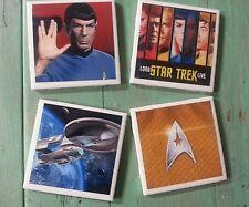 Star Trek ceramic coasters (set of 4)