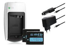 2x Batteries Chargeur pour Panasonic Dmw-blc12 - voir Liste de Compatibilité