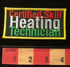 Heating Technician Certified Skill Patch C659