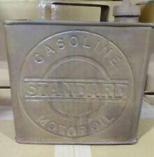 Metal Square Standard Gas or Can Oil Advertising Garage Shop Man Cave Decor