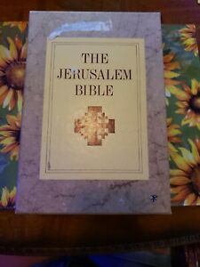 THE JERUSALEM BIBLE BY DOUBLEDAY & COMPANY (1966 HARDCOVER in Sleave)