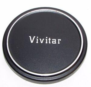 Metal Vivitar 64.9mm ID Lens Front Cap Made in Japan for 62mm filter rim