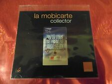RARE - ENCART MOBICARTE COLLECTOR - JEUX OLYMPIQUES - NEUF & LUXE - Côte ? Euros