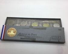 Monnaie De Paris Fdc 1964 Reunion & Comoros Coin Set 10 Coins With Box