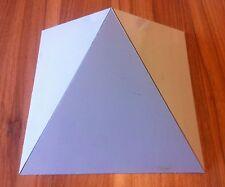Orgone ALLUMINIO RESINA COLATA GIZA piramide stampo / MUFFA - 200mm x 200mm base
