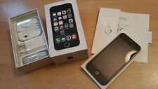 Apple iPhone 5s 32GB grey simlockfrei & brandingfrei & iCloudfrei & OVP TOPP !