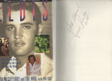 SIGNED DONNA PRESLEY ELVIS PRECIOUS MEMORIES FIRT EDITION HARDBACK U/C DJ 1997