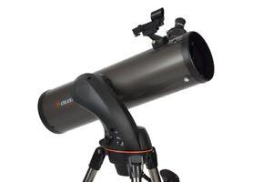 Celestron NexStar 130SLT Reflector Telescope with Star Sense - Free P&P IRE & UK