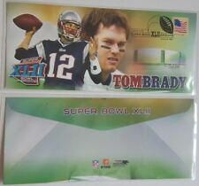 Tom Brady 2008 Super Bowl XLII Champion postmarked First Day Cover