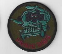 U.S. AIR FORCE PATCH - USAF CIVIL ENGINEERING PRIME RIBS SUBDUED PATCH