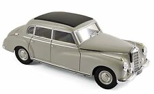 NOREV 1955 MERCEDES BENZ W186 300 LIGHT GREY 1/18 DIECAST MODEL CAR 183578