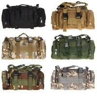 Outdoor Military Tactical Waist Pack  Molle Camping Hiking Pouch Holder Bag