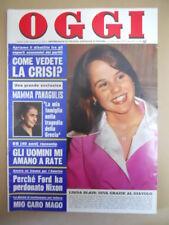 OGGI n°39 1974 Linda Blair Valentina Cortese Brigitte Bardot  [G775]