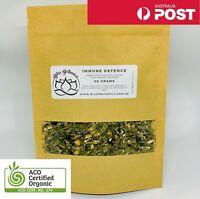 Immune Defence Tea - 50 Grams Elderberry, Echinacea, Olive Leaf, Ginger