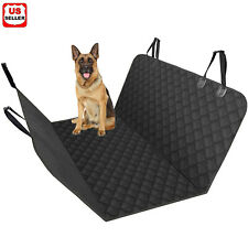 Pet Seat Cover for Dogs Car Back Seat Protector Hammock Resistant Dirty Cushion