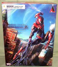 "SPIDER-MAN VARIANT Square Enix Variant Play Arts Kai 10"" Action Figure AUTHENTIC"