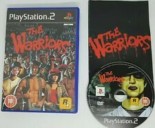 SONY PLAYSTATION 2 PS2 GAME THE WARRIORS BY ROCKSTAR BLACK LABEL