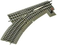 High Quality Lionel FasTrack Electric O Gauge, O36 Manual Switch, Left Hand