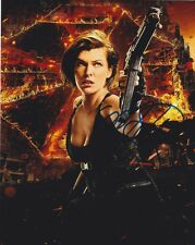 Milla Jovovich (Resident Evil) signed authentic 8x10 photo COA