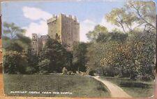 Irish Postcard Blarney Castle From The North Cork Ireland Wr&S Ritchie 1911