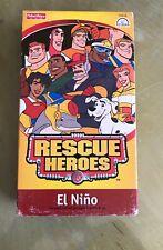 Rescue Heroes - El Nino (VHS, 2003)