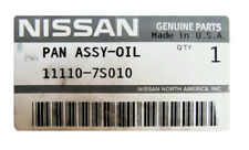 Genuine OEM Nissan Infiniti 11110-7S010 Lower Engine Oil Pan