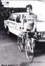 CYCLISME carte cycliste MARIO MARIOTTI équipe FLANDRIA VELDA LANO 1978