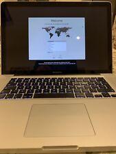 "Apple MacBook Pro 15"" 4GB Laptop Mid 2009 Original Owner OS X El Capitan 10.11.6"
