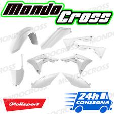 Kit plastiche cross mx POLISPORT Bianco HONDA CRF 450 R 2017 (17)!