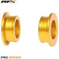 Suzuki RM 125 2002 RFX Pro Yellow Rear Wheel Spacers
