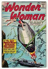DC COMICS Wonder woman 139 VG- 3.5   silver age 1963