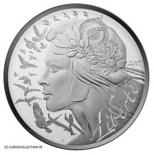 FRANCE 20 € EURO SILVER UNC 2017 MARIANNE 2017 FROM ROLL @ LOW MINTAGE!