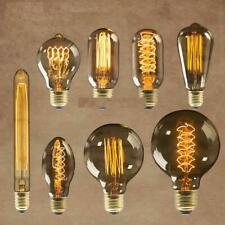Vintage LED Bulbs Industrial Filament Edison Radio Valve Lightbulb Lamp Amber