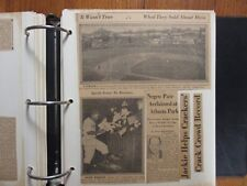 355-Page  2 Albums/Sporting News Articles(1943-1973)(w/JACKIE ROBINSON/BABE RUTH
